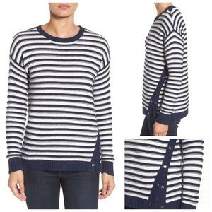 NWT Caslon Striped Sweater